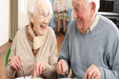 Healthy eating when you are old